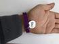 Силиконовый браслет черный (PMS BlackC) размер Взрослый (202*12*2 мм)