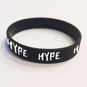 """Браслет силиконовый """"HYPE"""". 1 шт. размер взрослый"""