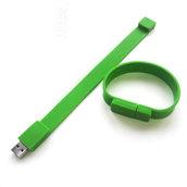 флешка 8GB зеленая 363С мод. S01