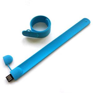 флешка 8GB голубая 306С мод. Slap