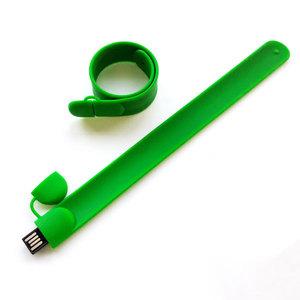 флешка 8GB зеленый 802С мод. Slap